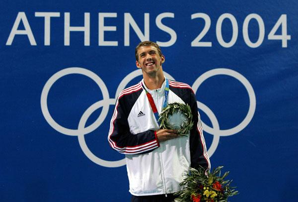 Michael Phelps 2004 Olympics