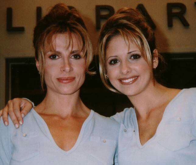 Image result for Sarah Michelle Gellar and Sophia Crawford.